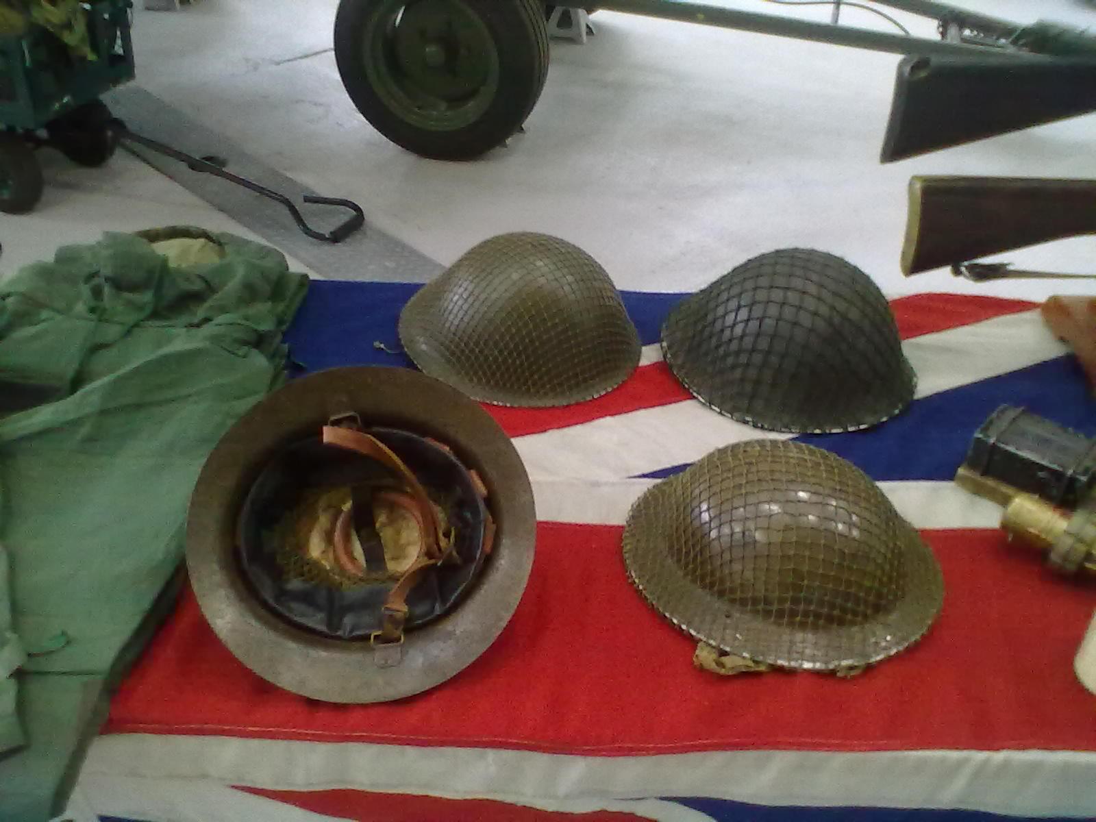 Development of the steel helmet
